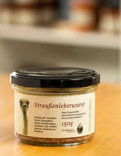Straussenfarm Leberwurst